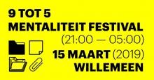 9 tot 5 mentaliteit Festival