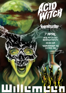 Acid Witch (US) + Bonehunter (FI)
