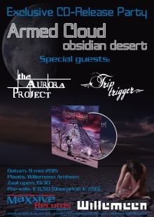 Armed Cloud cd release party + The Aurora Project + Trip Trigger