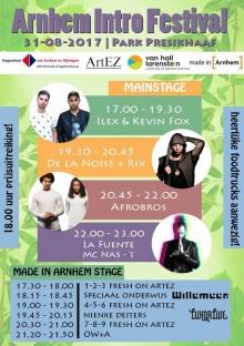 Arnhem Intro Festival @ Park Presikhaaf met Speciaal Onderwijs