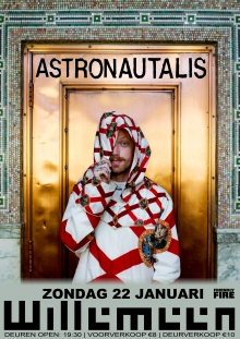 Astronautalis (US) + support exclusive NL Show