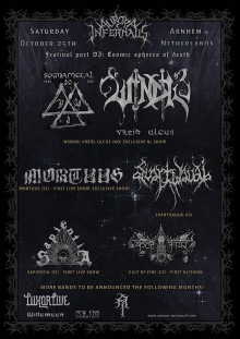 AURORA INFERNALIS V: Mortuus + Svartidau�i + Cult Of Fire + much more @LUXORLIVE
