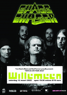 Back To Thrash Presents: Space Chaser (DE) + Support