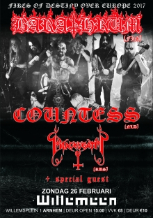 Barathrum (FI) + Countess + Blackdeath (RU) + Special guest