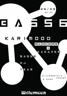 BASS6: KARIMOOO / MADCORE / KADAVER / BASS6 DJ TEAM