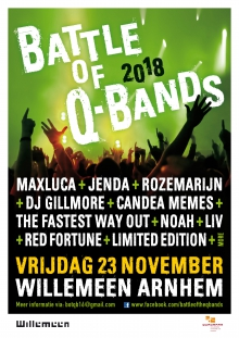 Battle of Q-Bands