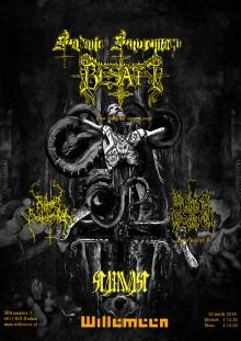 Satanic Supremacy w/ Besatt (PL) + Hats Barn (FR) + Standvast + Rites Satanika