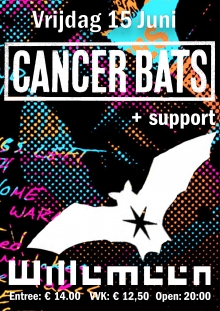 Cancer Bats (CAN) + Support