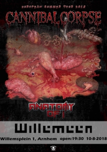 Cannibal Corpse (USA) + Anatomy Of I