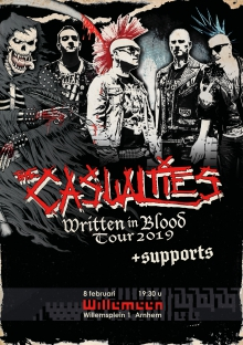 Casualties (USA) + Support Exclusieve NL show