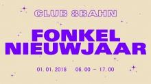 Club 8Bahn fonkel nieuwjaar