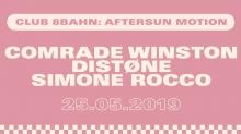 Club 8Bahn w/ Comrade Winston, Distone & Simone Rocco