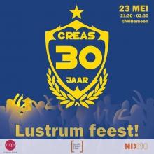 Creas Lustrum Feest!