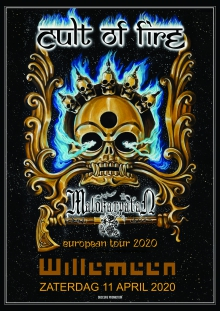Cult Of Fire (CZ) + Malokarpatan (SK) only NL show!