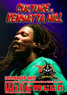 is verplaatst: Culture ft. Kenyatta Hill + Dub Nation