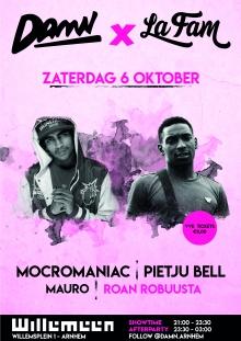 DAMN: MocroManiac [AKA ManiBaby] + Pietju Bell + Mauro + Roan Robuusta