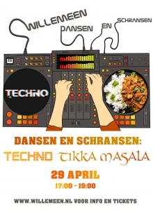 Dansen & Schransen: Techno Tikka Masala