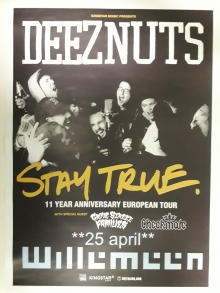 Deez Nuts (AUS) + Grove Street Families (UK) + Checkmate