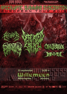 Defeated Sanity (DE/USA) + Epicardiectomy (CZ) + Acranius (DE) + Oral Fistfuck (DE)  Exclusive NL SHOW