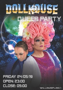 Dollhouse Outerspace Queerparty