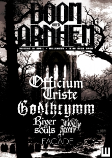 Wordt verplaatst: Doom Over Arnhem w/ Officium Triste + Godthrymm (UK) + Into The Arcane + Façade + River Of Souls
