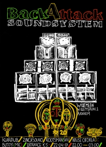 Dub Nation #20 met BackAttack Soundsystem