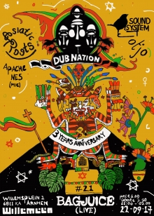 Dub Nation 3 Year Anniversary - Bag Juice (Live) and TjoTjo Soundsystem