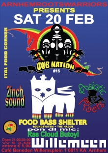 Dub Nation#16 w/ Food Bass Shelter Soundsystem