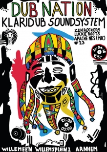Dubnation #23 w/ Zen Rockers + Lukie Roots + Apache Nes + Klaridub Soundsystem