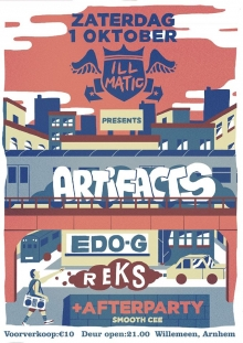 EDO G (US) + The Artifacts (US) + R.E.K.S. (US) + DJ SMOOTH CEE