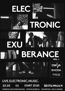 Electronic Exuberance presents OWNA + Rhoda + TYCO