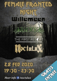 Female Fronted Night met:  Noctulux + The First Resort + Egeria