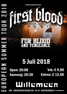 First Blood (USA) +  For Blood and Vengeance