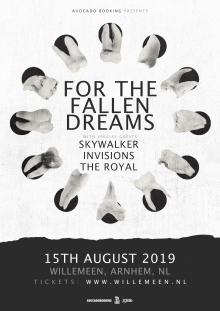 For The Fallen Dreams (USA) + Skywalker (CZ/UK) + InVisions + The Royal  EXCL NL SHOW