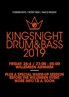 FORMS present 'The King Of Bass' 2019