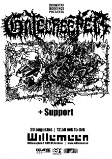 Cancelled: Gatecreeper (USA) + Support