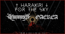 Harakiri For The Sky (AT) + Schammasch (CH) + Gaerea (PT)