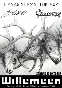 Harakiri For The Sky (AT) + Sylvaine (FR) + Shores of Null (IT) exclusive nl show!!