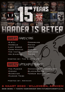 15 years Harder Is Beter!