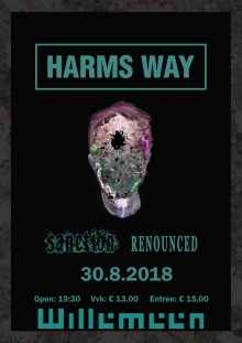 Harm's Way (USA) + Sanction (USA) +  Renounced (UK)  excl NL show!