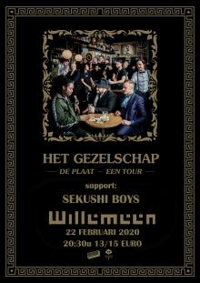 Het Gezelschap + Sekushi Boys