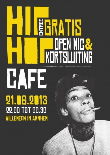 Hip hop cafe