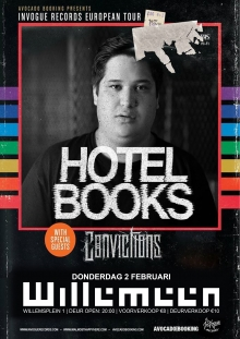 Hotel Books (USA) + Convictions (USA) Only NL show