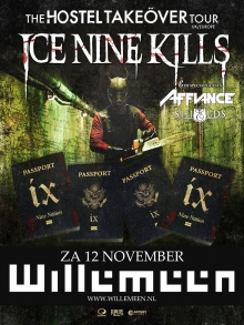 Ice Nine Kills (USA) + Affiance (USA) + Shields (UK)