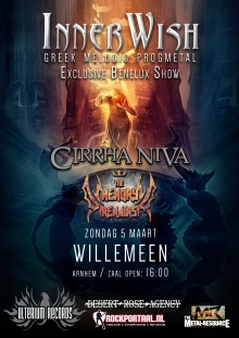INNERWISH + Cirrha Niva (NL) en The Memory Remains (NL)