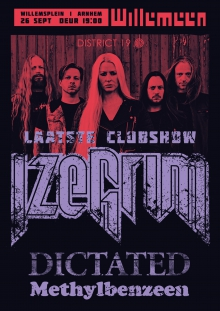 Cancelled: Izegrim  allerlaatste clubshow met Dictated + Methylbenzeen