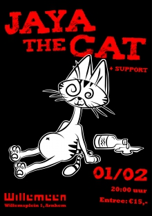 Jaya The Cat + support
