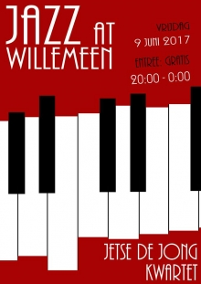 Jazz At Willemeen presents het Jetse de Jong Kwartet
