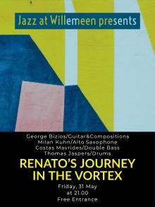 Jazz At Willemeen presents: Renato's Journey in the Vortex (CY)