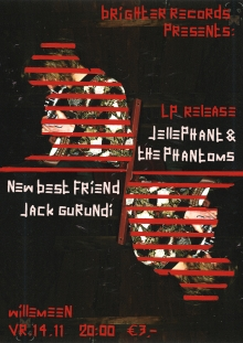 Jellephant & the Phantoms (LP release show)  + New Best Friend + Jack Gurund